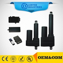 over clutch protection permanent linear actuator
