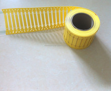 Multi size cable marker tags with cable tie slots
