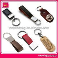 custom made braided leather keychains,genuine leather car keychain