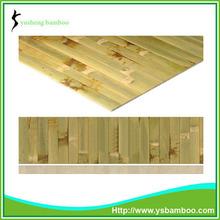 de bambú de pared que cubre la decoración
