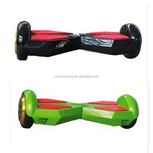 350w double motor 8 inch Self Balancing Electric Scooter +Bluetooth Audio+Lighting+Color streamer lights+Remote control