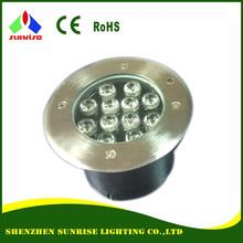 11V/220V 3W 6W 9W 12W outdoor inground LED lights