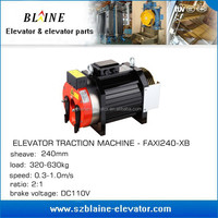 traction machine,small elevator components