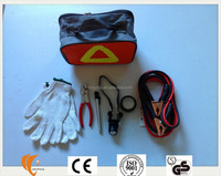 Promotional and cheap Roadside Emergency Tools Kit for automobiles