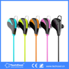 multicolor noise cancelling in-ear stereo sports wireless bluetooth headset for Smart Phones at promotion