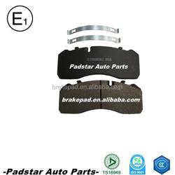automotive spare parts WVA29093 cheap goods from china Germanic heavy trucks brake pad