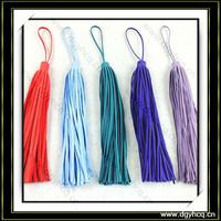 Yuhua durable fashion suede leather fringe tassel for handbag packup bag
