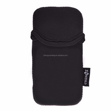 Black Neoprene Carrying Protective Phone Sleeve Case Pouch Cover