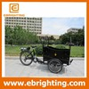 new stylish design closed cargo box tricycle with low price