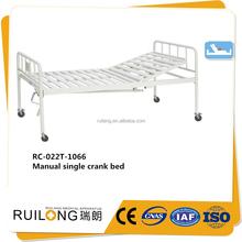 Rc-022t-1066 últimas simple hogar de ancianos cama barato cama individual venta