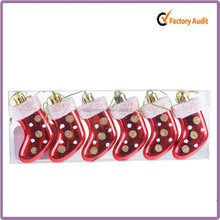 Wholesale red delicate polyresin personalized christmas ornaments