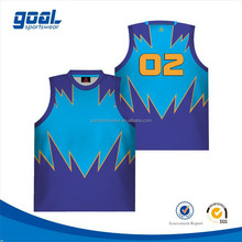 Wholesale cheap sports fashional lady basketball tops/wear