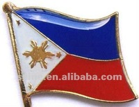 Philippines Singal lapel pins,metal pin,gifts metal arts