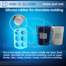 RTV food grade silicone rubber molds china for cake,suger,chocolate