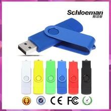 Wholesale Twist Style Promotional 16gb USB Flash Drive, OTG USB Flash Drive, Custom USB Flash Drive