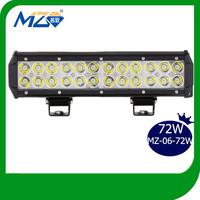 F250 Truck off road led light bars 72w spot/flood/combo