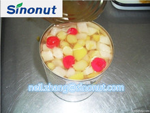 FIRM FRUITS BAKING USED GOOD PRICES FACTORY SUPPLY EASY OPNEN LIDCANNED FRUIT COCKTAIL