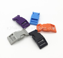 "Colorful Contoured 5/8"" Side Release Buckles For Paracord Bracelet Survival Kit Emergency Plastic Buckle"