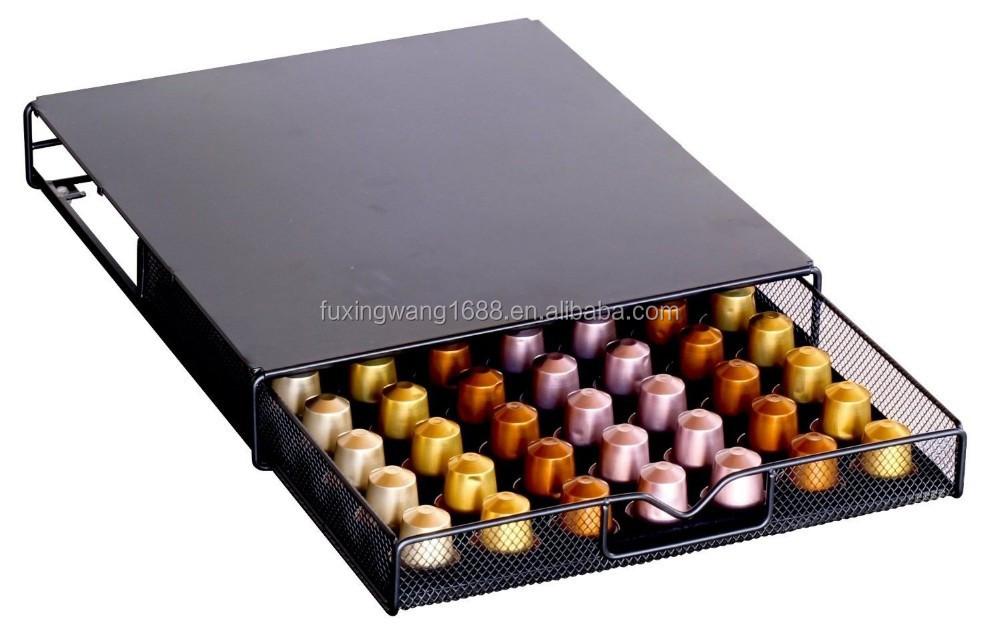 Cialde di stoccaggio maglia nespresso cassetto porta per - Nespresso porta cialde ...