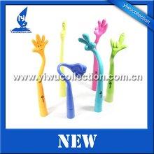 I love you flexible finger pen,craft pen,novelty pen for kids,novelty ball pen,novelty shape pen