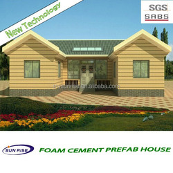 The Newest fast installation export prefab house designs for kenya
