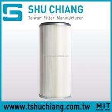 Double Open End TSC-C215 Industrial Polyester Dust Collector Air Filter Cartridge TSC-C215 Double Open End