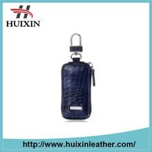Italy style crocodile skin weave key bag for multiple keys