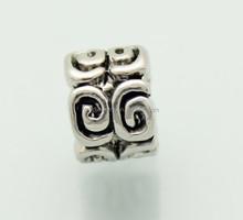 fashion latest metal nugget beads metal angel wing beads