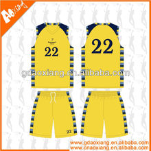 A-league quality Sublimation Newly Basketball practice kits