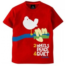 Kids fashion clothes tshirt for kids with cut printing
