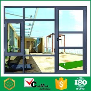 Vente chaude Cadre En Aluminium Fenêtre Et Porte de Sécurité Fabrication