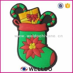 Custom 3D pvc rubber fridge magnet in Guangzhou