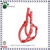 Red Striation New Dog Harness Nylon Pet Harness