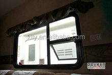 Heat insulation sliding window
