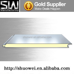 best quality and high density polyurethane PU sandwich panel made in China