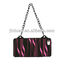 For Apple IPhone 5 bag design silicone case, silicone hand bag case for iphone 5