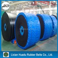 Heat Resistant Stretch EP100 Round edge Rubber Conveyor Belt