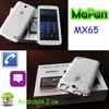 "6.5 inch MTK8312 Dual Core Android 4.2 Wifi 2G Phone Call Dual SIM Card Cheap 6.5"" MTK8312 Dual Core Mobile Phone Smartphone"