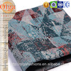 Good wear resistance irregular Geometric jacquard lining tulip fabric for slip cover