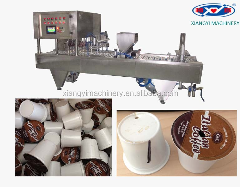 Shanghai Factory Price For Coffee K Cup Making Machine