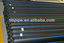 Solid HDPE Water Supply Pipe with Long Life Expectancy & Low Flow Resistance