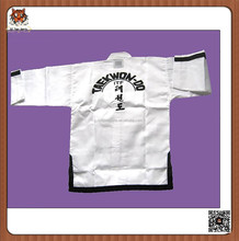 Martial art itf taekwondo uniform for training
