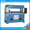 Precision four-column half/full-cut hydraulic foam rubber gasket sheet cutting machine with CE