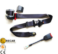 truck bus seat parts 3 point Retractable safety belts