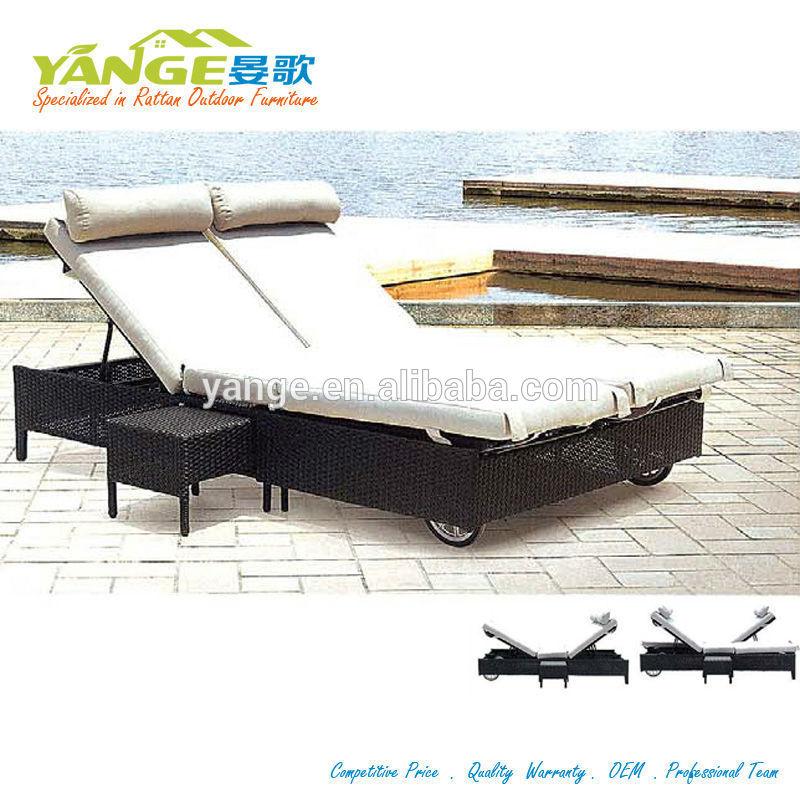 silla de cubierta del sexo sofá muebles camas sol tumbona doble