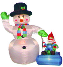 Customized Promotional inflable christmas Decorations