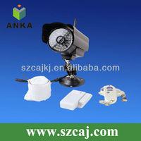 Home alarm wireless gsm&mms motion sensor camera