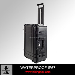 Plastic case with handle made in improved PP Trolley Plastic Travel Case