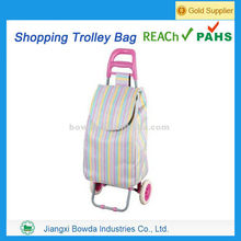 Most popular portable shopping trolley bag with seat