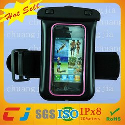 2015 Wholesale Eco-friendly Inflatable PVC Waterproof Pouch For Swimming